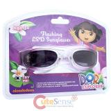 Dora The Explorer Dora and Boots Kids Sunglasses with Flashing LED Lights