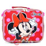 Disney Minnie Mouse School Lunch Bag Insulated Snack Box - All Over Comic Book