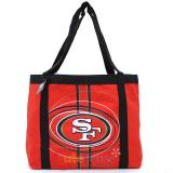 "NFL San Francisco 49ers ToteBag Soulder 20"" Canvas Diaper Shopper Bag"