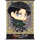 Attack on Titan SD Levi Wall Scroll GE60569