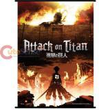 Attack on Titan Key Art Wall Scroll GE60223