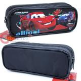Cars Mcqueen  Pencil Case Zipppered Bag Pouch with Francesco -Black