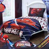 Marvel Ultimate Spiderman 3pc Twin Bedding Comforter Set