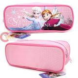 Disney Frozen Elsa and Anna  Zippered  Pencil Case Pouch Bag -Princess Pink