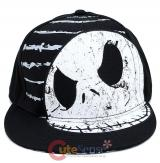 Nightmare Before Christmas Jack Snap Back  Flat Bill Hat