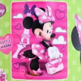 Disney Minnie Mouse  Plush Microfiber Raschel  Throw Blanket : Bow-tique Travel in Style