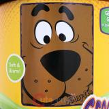 Warner Bros Scooby Doo Big Face Plush Microfiber Raschel  Throw Blanket : Close Canine