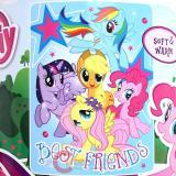 My Little Pony Plush Microfiber Raschel  Throw Blanket : Best Friends