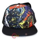 Star Wars Sublimated  Print Trucker Mesh Snap Back Hat with Metal Stud