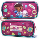 Disney Jr. Doc Mcstuffins Pencil Case Accessory Case  Bag