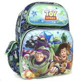 "Disney Toy Story Large School Backpack 16"" Book Bag - All Over Infinity"
