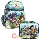 "Disney Toy Story 16""  Large School Backpack with  Lunch Bag Set -Infinity"