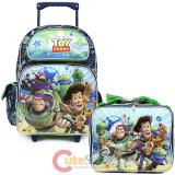 Disney Toy Story Large  School  Roller Backpack with Lunch Bag Set- Infinity