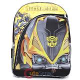 Transformers Bumble Bee Big Face School Backpack 16in Large Book Bag