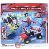 Mega Bloks The Amazing Spider Man Bridge Showdown-250 pieces