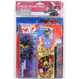 Transformers School Stationary Set BumbleBee Prime 11pc Value Pack