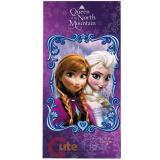 Disney Frozen Beach Towel Elsa Anna Bath Towel - Queen of the North