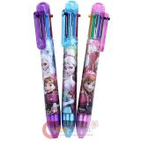 Disney Frozen Elsa Anna 7 color Retractable Ballpoint Pens 3PC Set