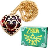 Legend of Zelda Skyward Sword Heart Containers Necklace with Box