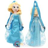 Disney Frozen Elsa Plush Doll Backpack Snow Queen Costume Bag