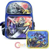 Transformers  Large School Backpack Lunch Bag Set -Age of Extinction