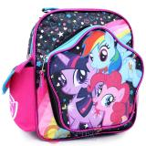 "My Little Pony 10"" School Backpack Toddler Mini Bag - Rainbow Magical Friends"