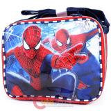 Marvel Amazing Spiderman  School Lunch Bag Insulated Snack Box - -Double Face