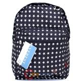 "Black White Stars Shcool Backpack School Bag 16"" Everest All Over Print Book Bag"