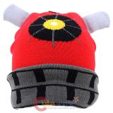 Dr. Who Red Dalet Cuffed Beanie Hat