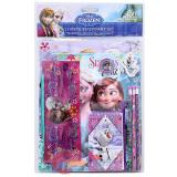 Disney Frozen  School Stationary Set  Elsa Anna Oalf 11pc Value Pack