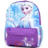 "Disney Frozen Elsa 12"" School Backpack Anna Sister Small Girls Bag"