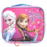 Disney Frozen School Lunch Bag Elsa Anna Insulated Pink Snack Bag -Sister Forver