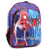 Marvel Spiderman Large School Backpack 16in Book Bag -3D Emblem Figure