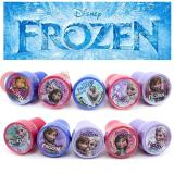 Disney Frozen  Self Ink Stamps 10pc Set with Elsa Anna Oalf