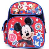 "Disney Mickey Mouse Friends School Backpack 12"" Medium  Bag-Lucky Stars"