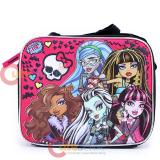 Monster High School Lunch Bag Insulated Snack Box - Freaky Fusion