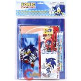Sonic The Hedgehog  School Stationary Set 11pc Value Pack