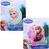 Disney Frozen Elsa Anna Night Light,  Bed Electronic 2pc Set  : 110V