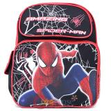 "The Amazing Spider Man Medium School Backpack 14"" Book  Bag -Web Shooter"