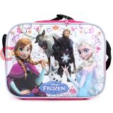 Disney Frozen School Lunch Bag Elsa Anna Olaf Insulated Snack Bag -Sparkle Snowflake