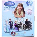 Disney Frozen 25pc Foam Puzzle Elasa Anna Floor Mat Puzzle
