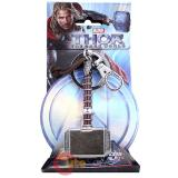 Marvel Thor The Dark World Hammer Pewter 3D Metal Key Chain
