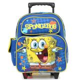"Nick Jr. SpongeBob Roller Backpack 12""  Small Rolling Bag"