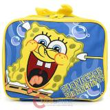 Nick Jr Spongebob  School Lunch Bag Insulated Food Snack Box - Bubble