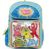 Yo Gabba Gabba Large School Backpack 16in Book Bag