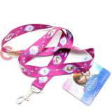Disney Frozen Elsa Anna  Lanyard  Key Chian ID holder