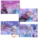 Disney Frozen Elsa Anna File Jacket  2pc Stationery  Set