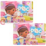 Disney Doc Mcstuffins  Dining Placemat 2pc Set - The Doc is In