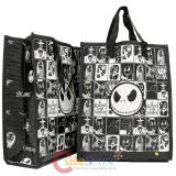 Nightmare Before Christmas Chracters Shopper Tote Bag 2pc Gift Bag Set