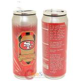 New San Francisco 49ers Thermo Can Travel Tumbler Cup